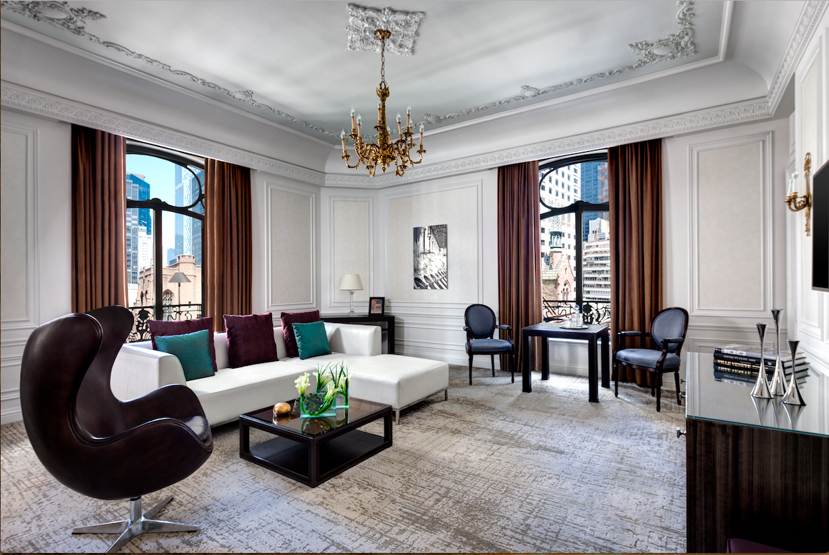 Suite life london new york vancouver amber gibson for Milano hotel design